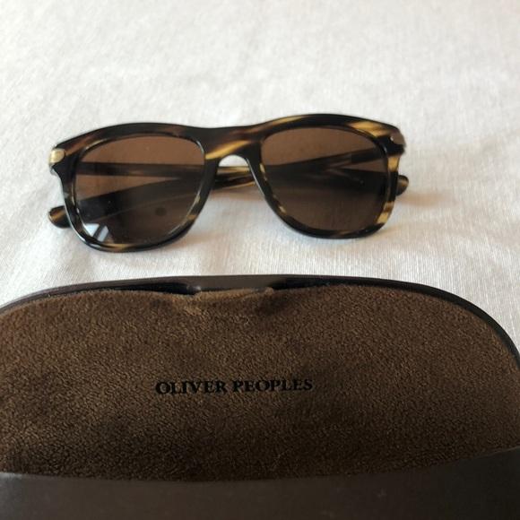 Oliver people's sunglasses tortoiseshell